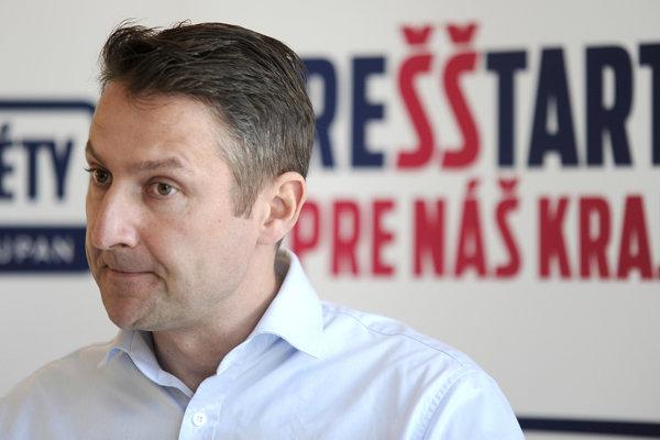 Nezávislý kandidát na post predsedu Trenčianskeho samosprávneho kraja Štefan Škultéty.