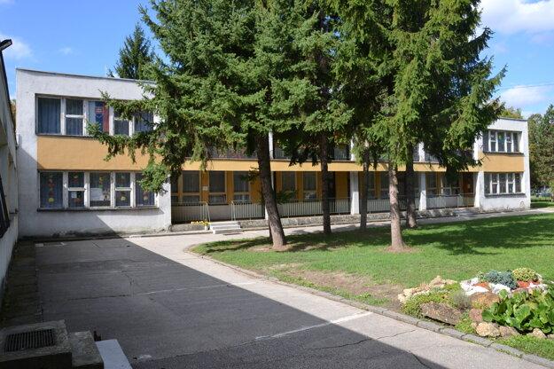 Budova škôlky pred rekonštrukciou