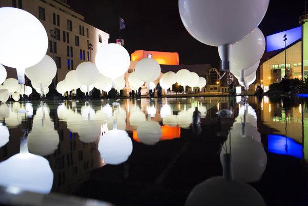 Biela noc pri Dunaji.