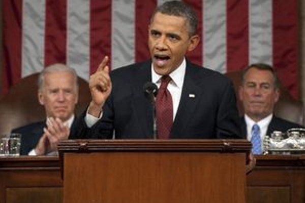 Obamov prejav v Kongrese.