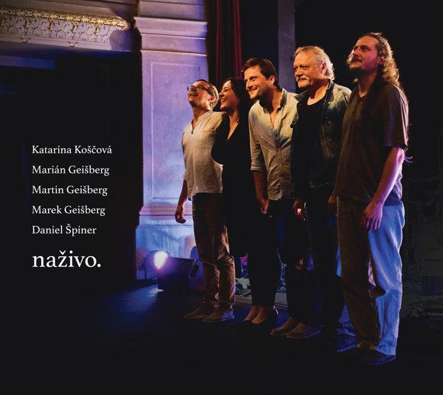 Obal nového CD Naživo.