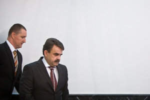 Generálny prokurátor Jaromír Čižnár a námestník Peter Šufliarsky.