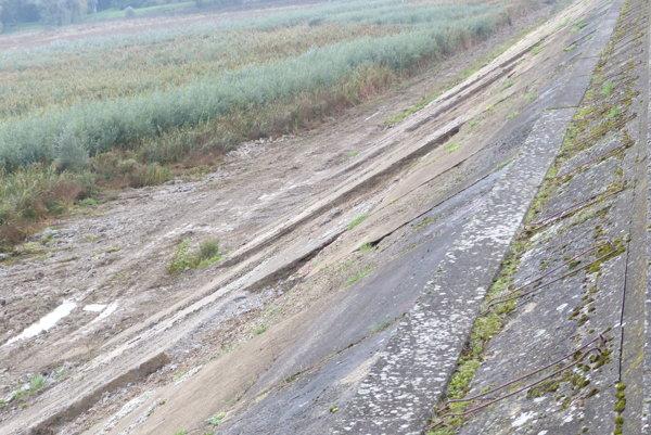Aktuálny stav na Kunovskej priehrade