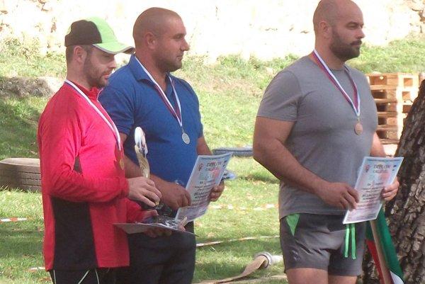 Zľava: Michal Libíček, János Pásztor, Gábor Tóbth.