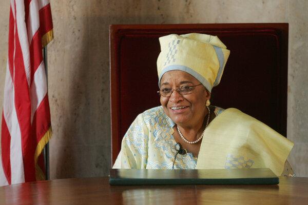 Ellen Johnsonová-Sirleafová.