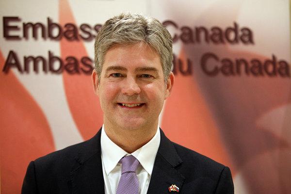 John von Kaufmann, veľvyslanectvo Kanady v SR.