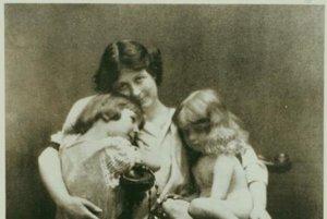 Isadora Duncanová s deťmi, 1913