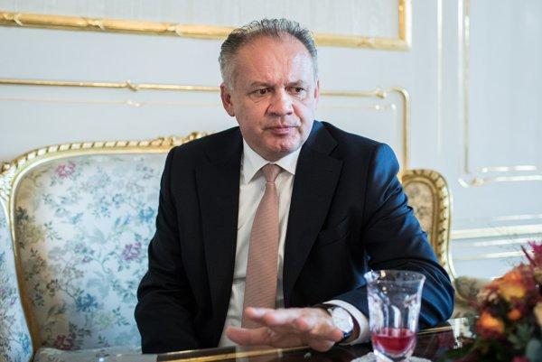 Prezident Andrej Kiska dal denníku SME aj kópiu kúpnej zmluvy na pozemok vo Veľkom Slavkove.