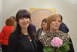 Júlia Zelená a Lea Fekete už spoločne vystavovali v Prahe.