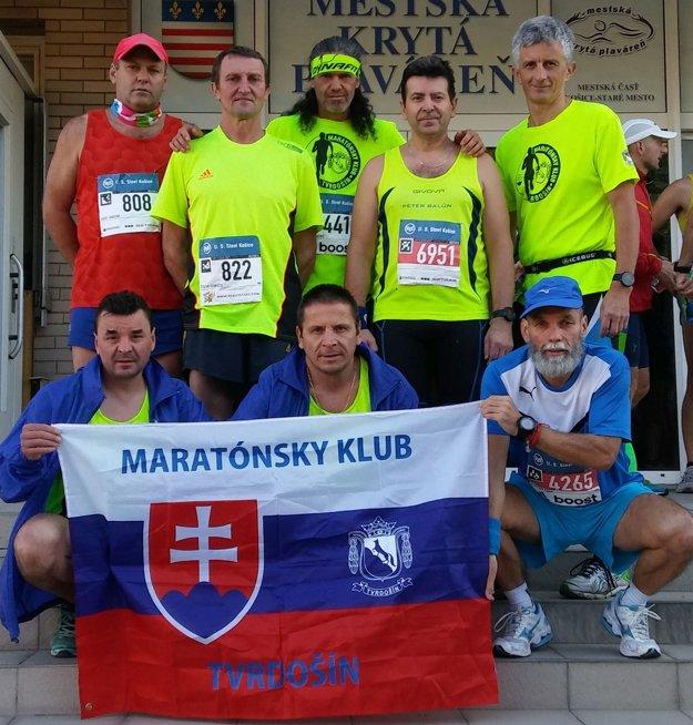 Bežci z Maratónskeho klubu Tvrdošín.