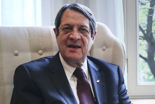 Cyperský prezident Nikos Anastasiadis.