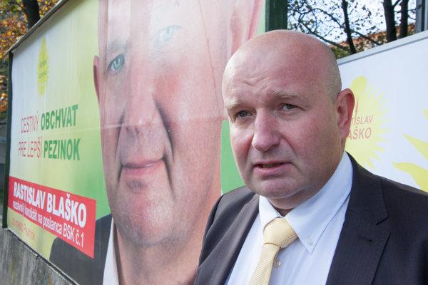 Rastislav Blaško bude kandidovať len za poslanca.