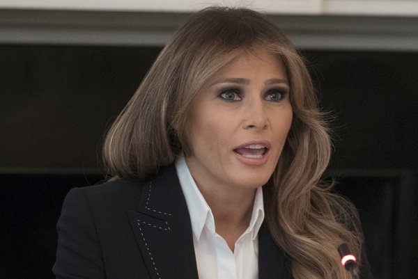 Prvá dáma Spojených štátov Melania Trumpová.