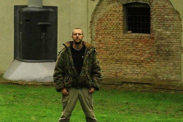 Juraj Vrba (na fotogfrafii) so skupinou nadšencov navštívil bunkre v Poľsku.