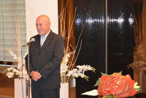 Ďakovná reč Ondreja Molotu pri ocenení.