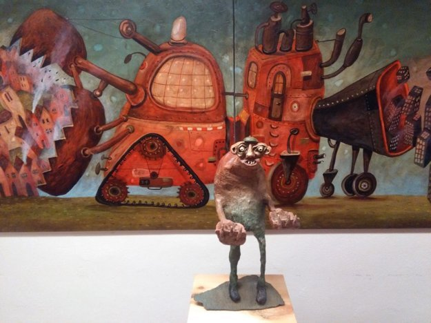 Z výstavy Fera Liptáka