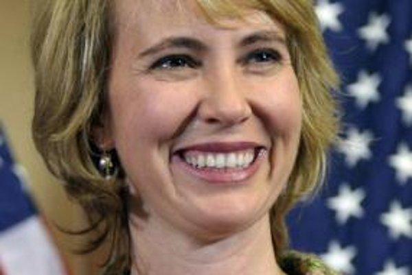 Poslankyňa federálnej Snemovne reprezentantov Gabrielle Giffordsová.