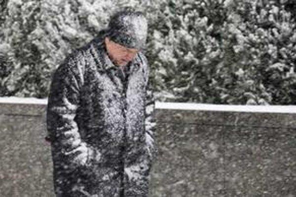 Január v USA bol poriadne studený.