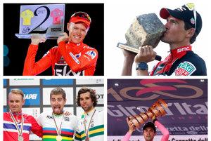 Cyklistická sezóna 2017 bola bohatá na zážitky i triumfálne víťazstvá.
