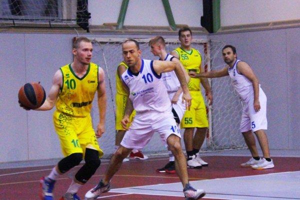 V druhej lige mužov Exit Nitra prehral s levickým béčkom. V popredí Matúš Marchyn a Fedor Štarke.