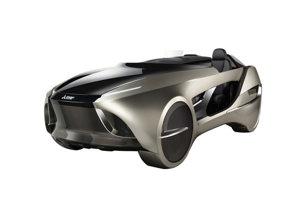 Mitsubishi Electric EMIRAI 4 - Autonómny elektrický koncept. Zaujme najmä head-up displejom s rozšírenou realitou, dokáže napríklad v zlom počasí zvýrazniť čiary na ceste.