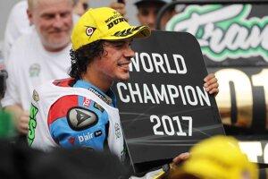 Franco Morbidelli je nový majster sveta v triede Moto2.