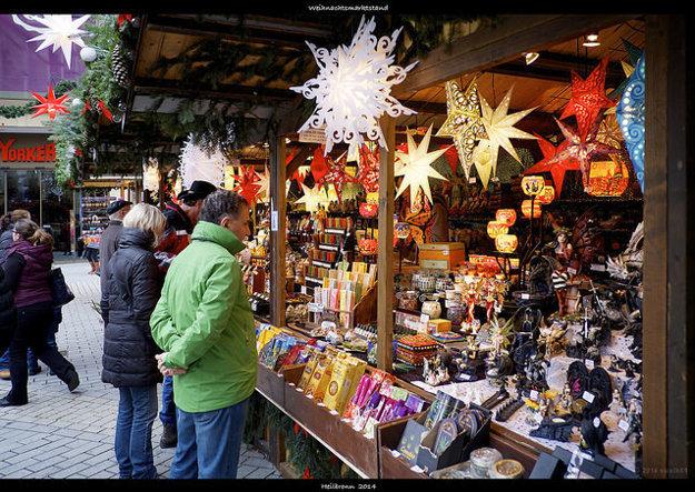 Vianočné trhy majú neopakovateľnú atmosféru.