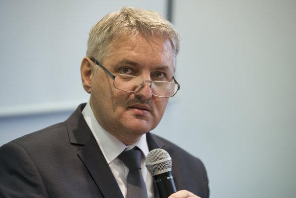 Predseda Správnej rady Ústavu pamäti národa Slovenskej republiky Ondrej Krajňák.