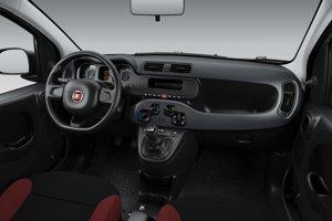 Interiér Fiatu Panda v základnej výbave za 8 760 eur.