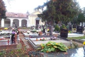 Cintorín v Pezinku.