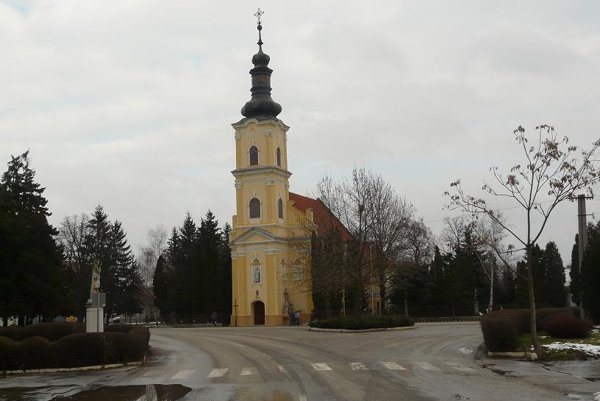Kostol vo Voderadoch.