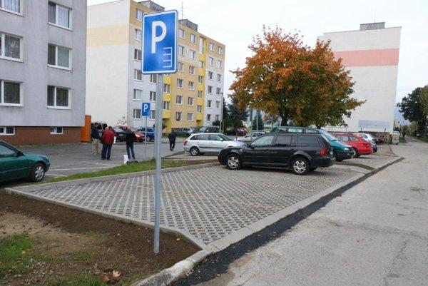 V Prešove pribudli parkovacie miesta.