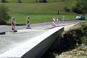 Aj most v Sklabini už potreboval vynoviť.