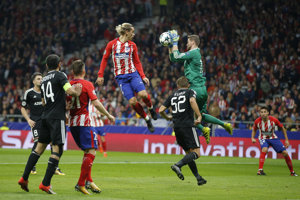 Atletico Madrid nezdolalo Karabach ani na domácom ihrisku.