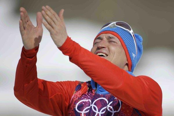 Ruský bežec na lyžiach Alexander Legkov.