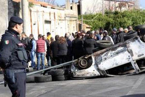 Talianske mesto Rosarno zažíva zrážky medzi africkými emigrantami a domácim obyvateľstvom.