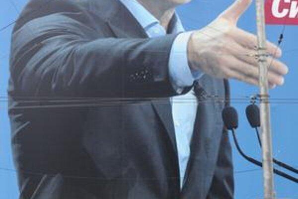 Volebný plagát tretieho Tyhypka.