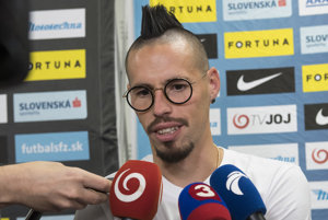 Marek Hamšík sa najbližšie zastaví až v januári.