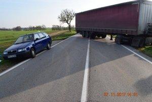 Minulý týždeň sa stala vážna nehoda pri Trnave.