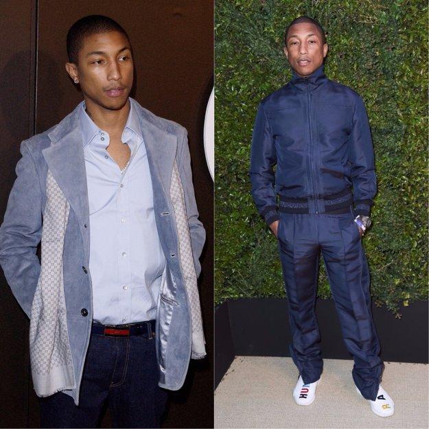 Pharrell Williams v rokoch 2004 a 2017