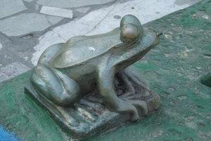 Autorom žabiek je Július Bártfay.
