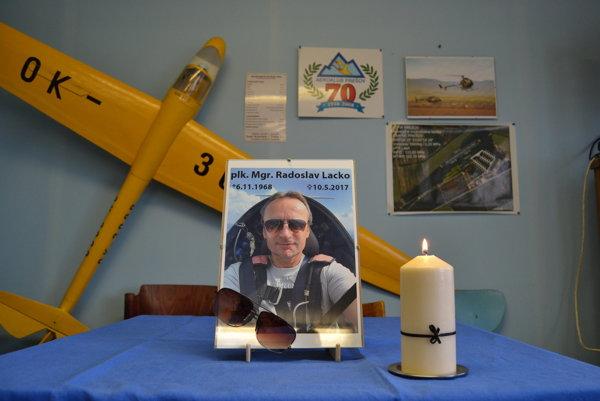 Radoslav Lacko bol vášnivým pilotom a pomáhal organizovať podobné podujatia.