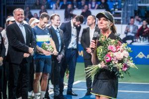 Daniela Hantuchová sa lúčila s kariérou.