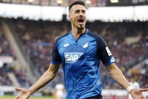 Sandro Wagner sa v drese Hoffenheimu vypracoval na jedného z najlepších útočníkov v Bundeslige.