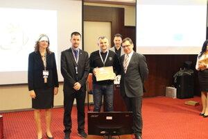 Ocenenie získala aj webová stránka TSK.