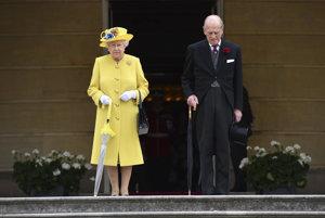 Na snímke z 23. mája 2017 kráľovský pár.