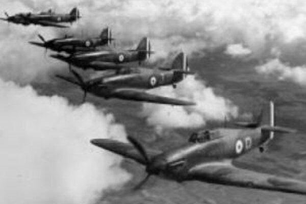 Britské Kráľovské letectvo nad Francúzskom, rok 1940.