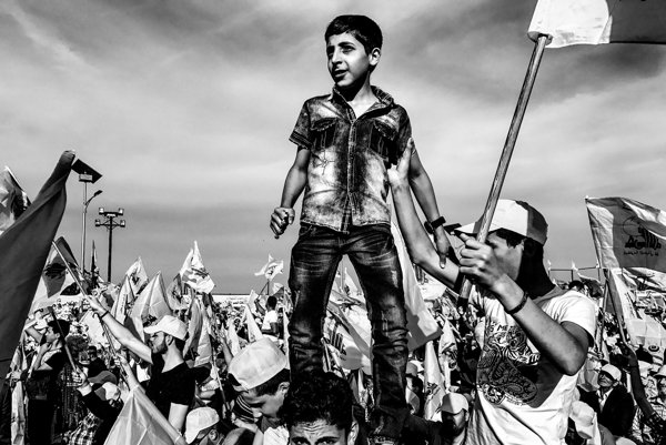 Hizballáh, oslavy víťazstva nad Izraelom.