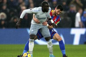 Oumar Niasse (vpredu) sa previnil v zápase proti Crystal Palace.