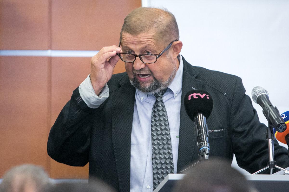 Harabin si za prezidenta trúfa, no k petícii za jeho kandidatúru sa nehlási - domov.sme.sk